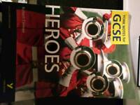 Gcse english heroes text book