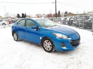 2013 Mazda MAZDA3 GS-SKY 2.0L 4 cyl. Excellent on Fuel!!