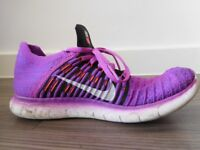Nike Trainers - Free Run Flyknit UK size 5