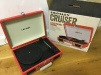 Crosley Cruiser, great vinyl player for small spaces