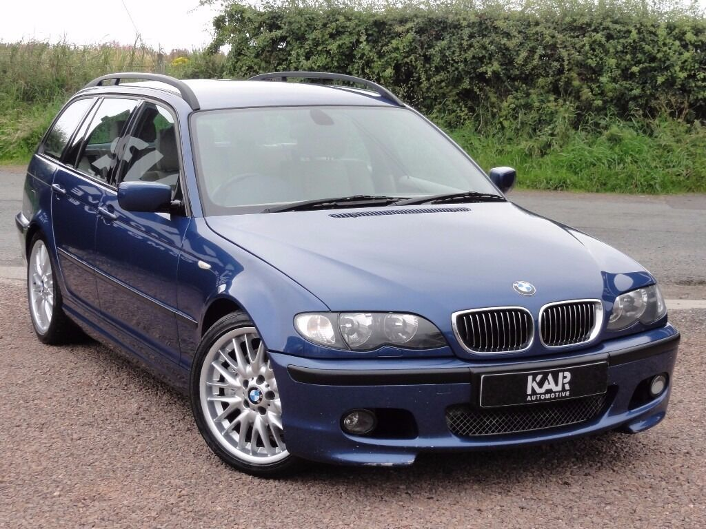 bmw e46 330i m sport touring manual 2002 02 reg 68k miles mot 1 year in tranent east. Black Bedroom Furniture Sets. Home Design Ideas