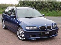 BMW E46 330i M Sport Touring, Manual, 2002 / 02 Reg, 68k Miles, MOT: 1 Year