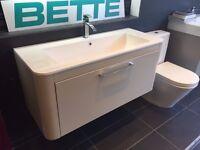 Basin + Vanity unit (W - 1100mm)