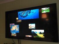 "40"" Samsung TV with wall bracket"