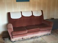 Three seater sofa in good condition.