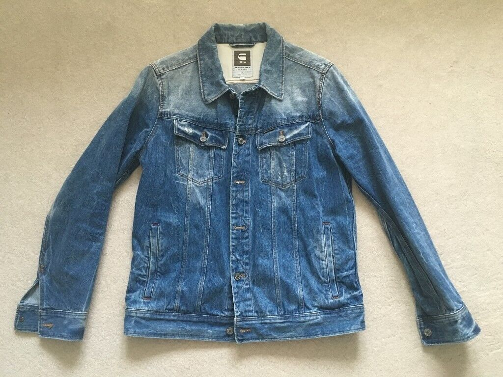 G-Star Men's Denim Jeans Jacket XL