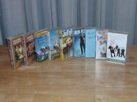 VHS tapes, bought films and comedy various artists