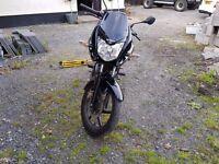 2014 Honda CBF 125 in Black