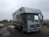 Ford Iveco 7.5 tonne Horse box