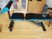 Weights Bench, Mens health, Excellent condition!