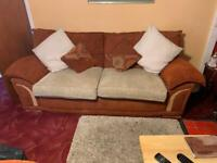3 Seater, 2 Seater (Sofa Bed) and armchair