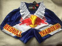 NEW PRO MAXX MUAY THAI BOXING KICK BOXING SHORTS SIZE MEDIUM