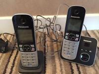 Set of 2 Panasonic cordless phones