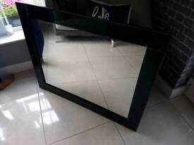 Black Gloss Mirror