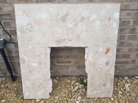 Marble Back for Fireplace