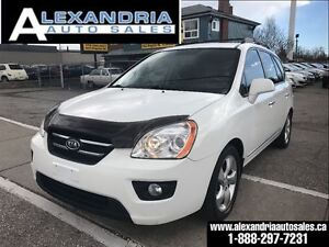 2009 Kia Rondo EX w/3rd Row leather sunroof safety includes