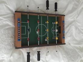 Small football / foosball table in great condition.