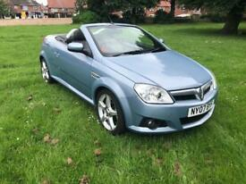07 REG VAUXHALL TIGRA 1.4 i 16V EXCLUSIV 2DR-FULL HEATED LEATHER-12 MONTHS MOT-FULL HEATED LEATHER