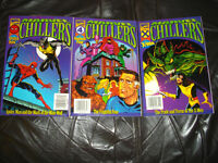 MARVEL CHILLERS 1996 x3 comics