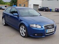 Audi A3 S line, Beautiful Car,3 Months Warranty,Long Mot, Hpi Clear 4495 Ono