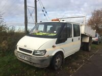 Transit tipper spares or repairs