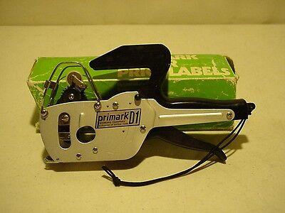 Primark D1 Price Tag Label Gun Labeller Stickers Pricing Pricer Label Tool