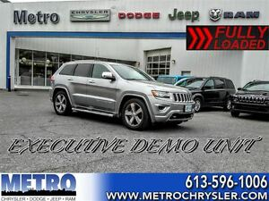 2016 Jeep Grand Cherokee Overland-Demo-LOADED