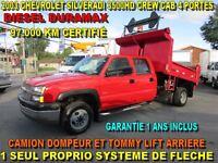 2003 Chevrolet Silverado 3500 HD DOMPEUR 97.000 KM DIESEL DURAMA
