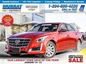 2014 Cadillac CTS 3.6L Luxury *Leather Seats, Rear View Camera*