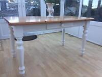 Country House Style Pine Dining Table