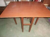 Brown Drop Leaf Table