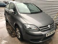 Excellent Value 2006 118000 Miles Golf Plus 1.9 TDI June MOT 2018 Part Service History HPI Clear