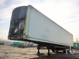 2001 MONTRACON OR GRAY & ADAMS TANDEM AXEL SUPER SINGLES 45FT INSULATED BOX TRAILER STORAGE CHOICE 4