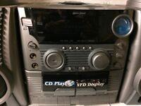 Radio cd cassette player