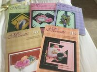 Set of 5 Decoupage Books. Collection Only