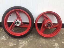 ZZR 600 wheels