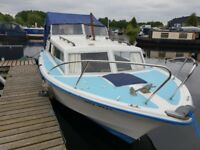 Cleopatra 700 23ft Cabin cruiser fully refurbished