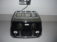 Toaster, De Longhi, Four Slice