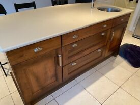 Complete kitchen with appliances & granite worktop