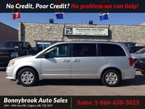 2011 Dodge Grand Caravan SE 7 passenger quad seating