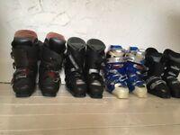Men's ski boots. Lange Vec 5. Size 8. Cheaper than renting!