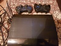 500 GB PS3 with 13 games.