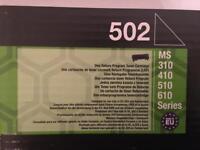 Lexmark 502 Toner - GENUINE - BRAND NEW & BOXEDD