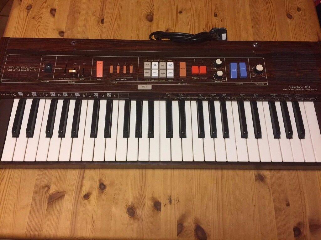 Casio Casiotone 403 Synth Keyboard