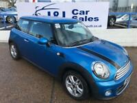 MINI HATCH ONE 1.6 ONE PIMLICO 3d 97 BHP A GREAT EXAMPLE INSIDE AND OUT (blue) 2011