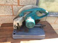 Makita 2414NB 110v Metal Cutting Saw, Chop Saw
