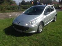 07/56 PEUGEOT 307 S 1.6 HDi 5DR HATCH