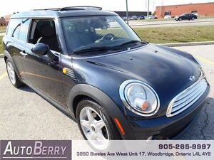 2009 MINI Cooper Clubman ** CERT E-TEST ACCIDENT FREE ** $6,999