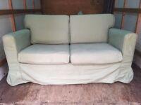 2 x Ikea 2 seater sofas
