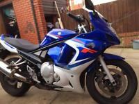 For sale Suzuki gsx 650 year 2007